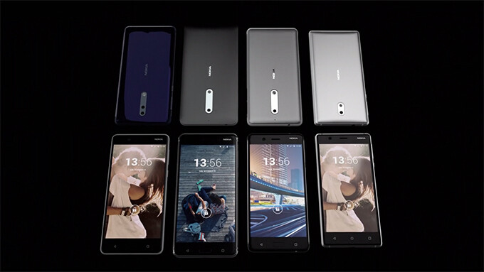 The Nokia 8 and 9 make a surprising appearance in an official introduction video
