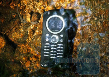 The Casio G'zOne Brigade is a high-tech rugged phone