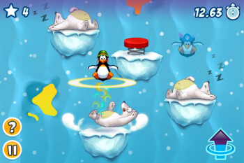 Crazy Penguin Party offers motley, lively graphics