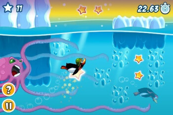 Test of Crazy Penguin Party for the iPhone