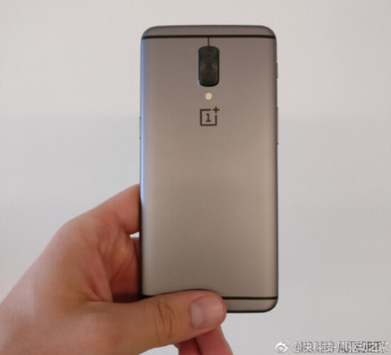 This is reportedly the image of a OnePlus 5 prototype - OnePlus 5 prototype appears, dual rear camera and all