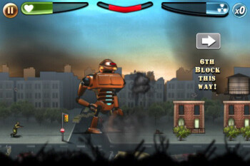 Your goal in Robot Rampage is to destroy everything in your path