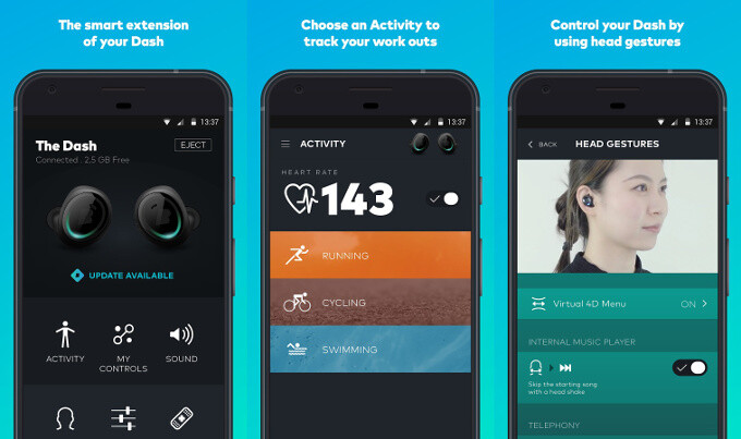 Bragi app for iPhone and Android - Bragi unveils new $330 Dash Pro truly wireless earbuds with fancy instant translation feature