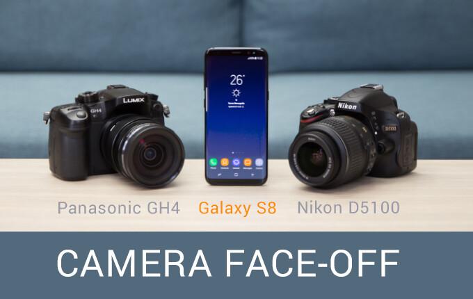 Galaxy S8 vs $2000 mirrorless camera and DSLR: Ultimate camera face-off