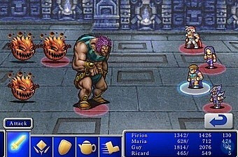 Final Fantasy I & II will give plenty of iPhone owners time to kill