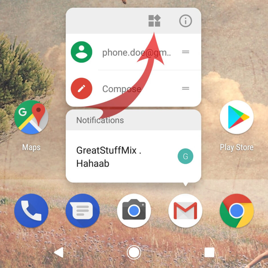 It's now easy to see what apps offer widgets - A first look at Android O's new features: Here's what arrived along with Developer Preview 2