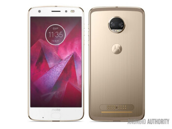 Render allegedly revealing the Moto Z2 Force