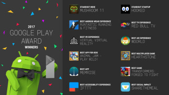 Google unveils best Android apps selection of 2017 in its Play Awards winners