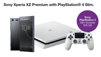 Greatest pre-order gift ever? Austrian telecom bundles free PS4 Slim with Xperia XZ Premium
