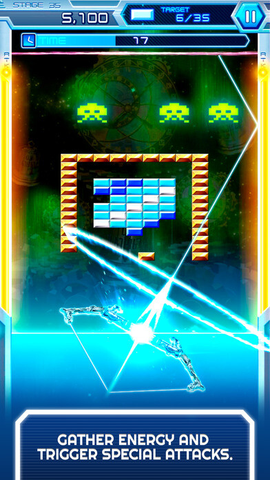 Arkanoid vs Space Invaders screenshots