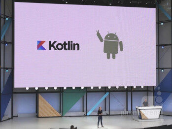 There was a lot of information offered up during the developer keynote, but the news about support for Kotlin as a programming language for Android drew the biggest cheers of all.