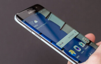 The screen on the Samsung Galaxy S7 edge wins an award from the Society for Information Display