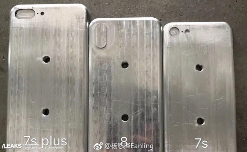 Molds for the iPhone 7s Plus, iPhone 8, iPhone 7s
