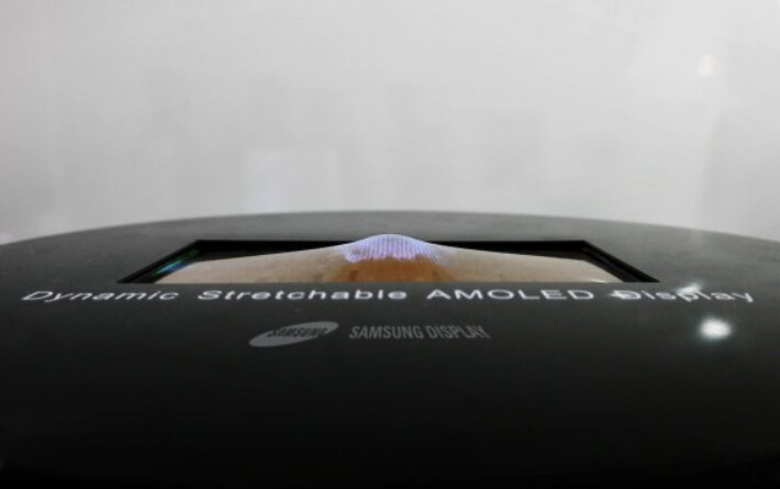 Samsung smartphones could feature stretchable OLED displays at some point in future