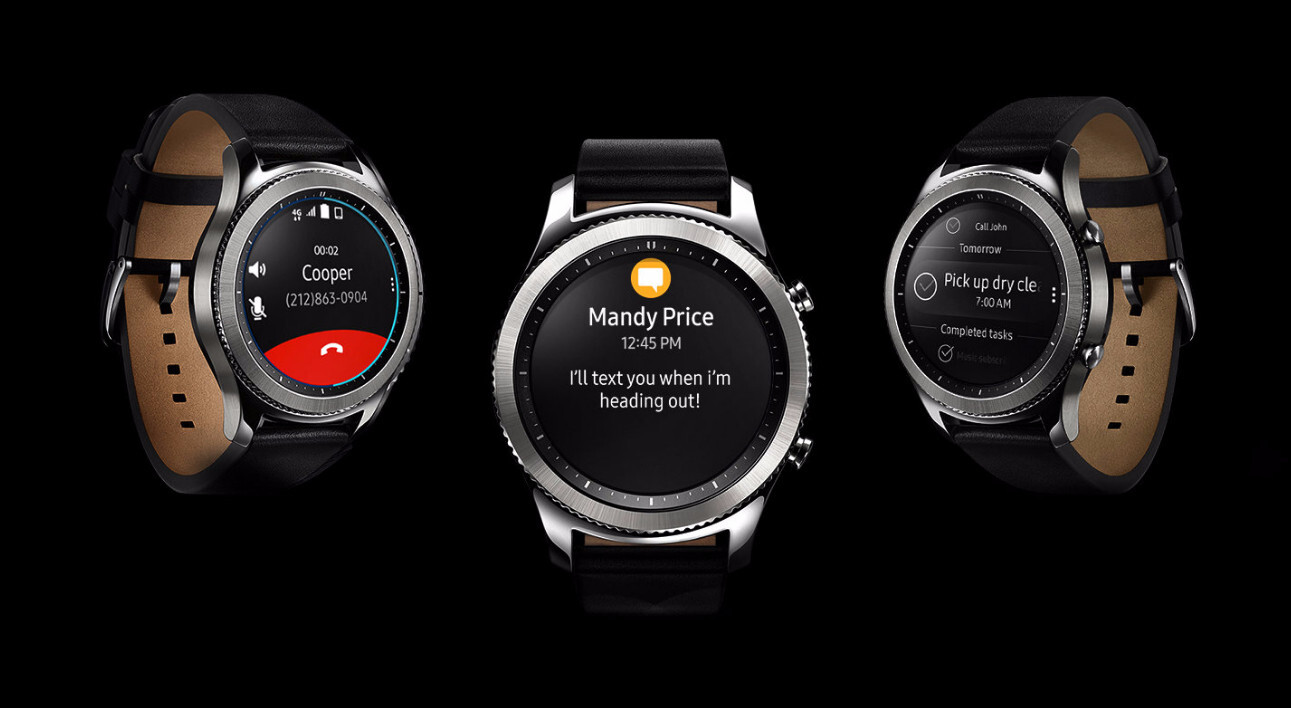 samsung gear s3 classic lte coming to at t on may 26. Black Bedroom Furniture Sets. Home Design Ideas