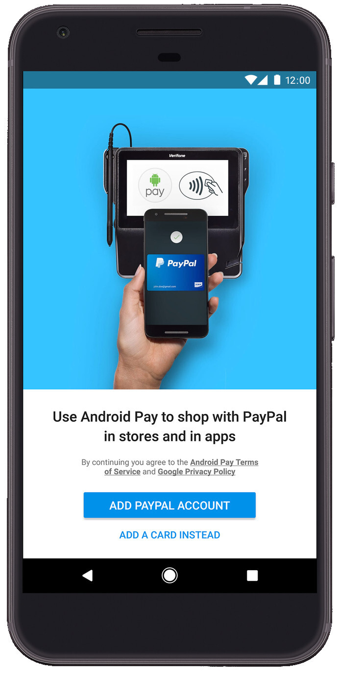 New PayPal update finally brings Android Pay support