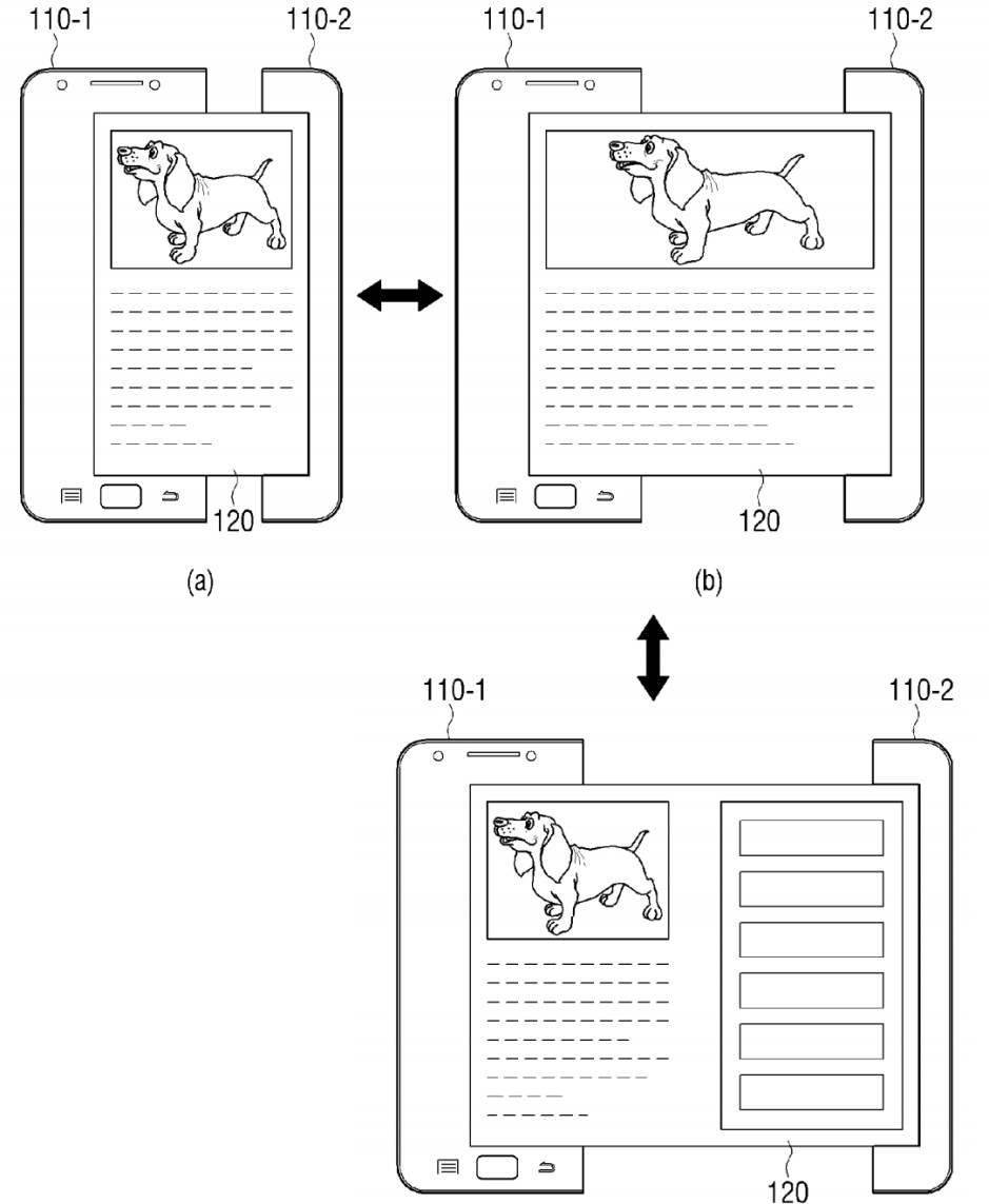 Samsung files patents for a tablet with a rollable display and a smartwatch with a camera
