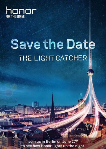 Alleged press invite for Honor 9 announcement event. - Light Catcher: Honor 9 to come with superior dual-camera setup and latest Kirin chipset