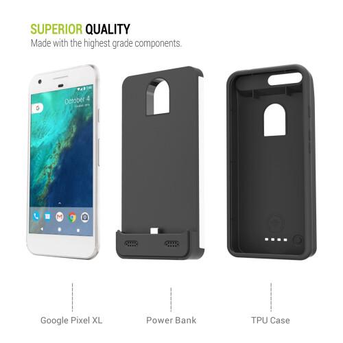 ZeroLemon Google Pixel XL battery case