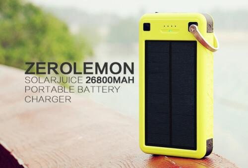 ZeroLemon SolarJuice power bank