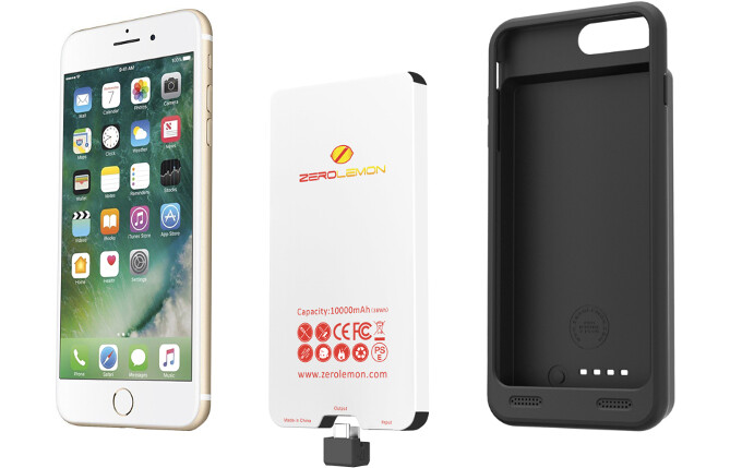 ZeroLemon's battery cases and battery pack will keep you going when there's no outlet around