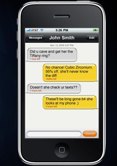 news apple phone plays mission impossible with your sext messages
