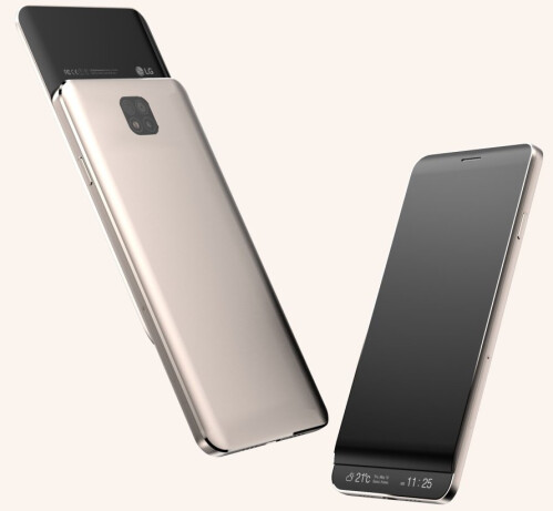 Early LG V30 design (the final version of the phone could be different)