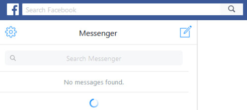 Many Facebook Messenger users currently see something like this if they try to use the service - It's not you, it's Facebook: Messenger is down in many parts of the world