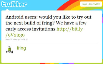 Fring offering Android users early access to version 2.0.7 with invites