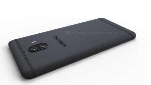 Samsung Galaxy C10 Render