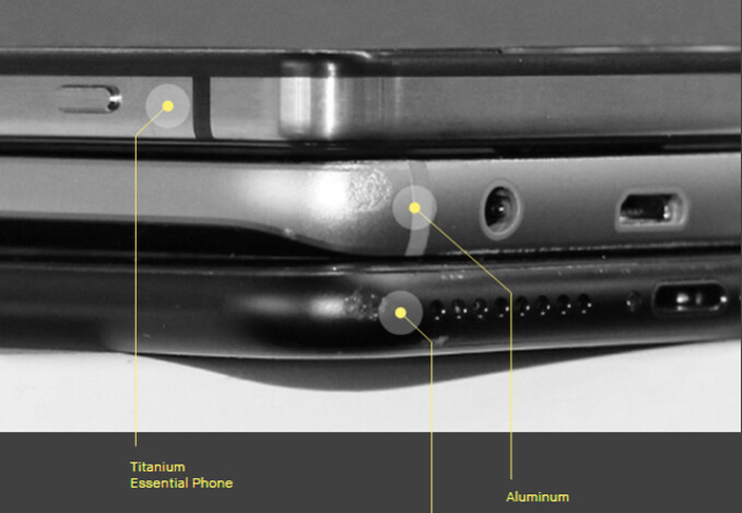 """When dropped, the titanium-made Essential phone is not dented - Apple has tried making a titanium iPhone, but failed; Essential made one, but it is """"not for everybody"""""""