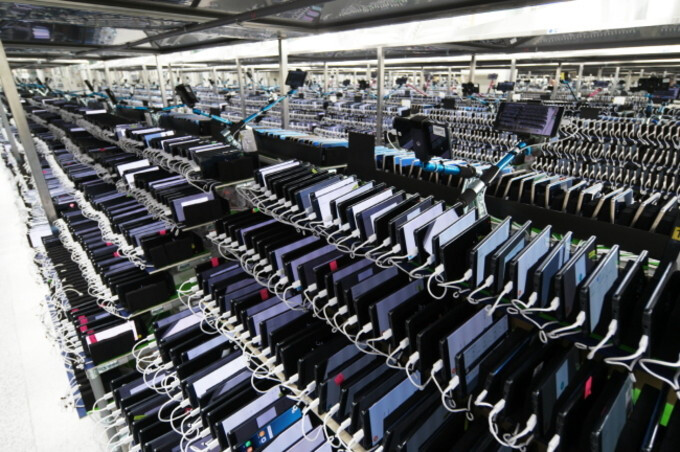 Note 7 devices being tested at a Samsung research facility - Samsung to publish detailed white paper report on Note 7 fiasco
