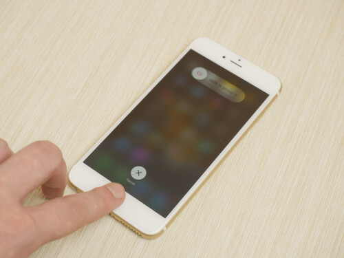 TouchID verification to turn phone off