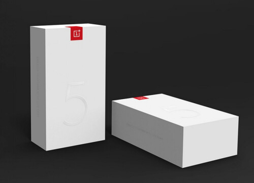 OnePlus 5 retail box designs