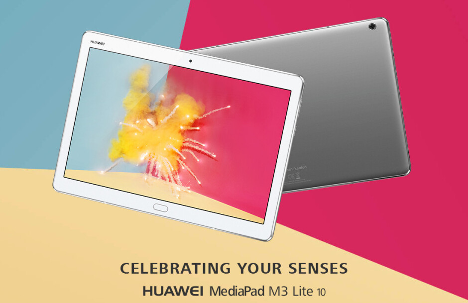 Huawei expands its tablet portfolio with the MediaPad M3 Lite 10
