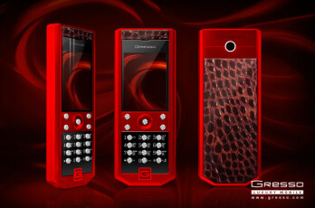 The new edition of Gresso Grand Monaco sports red alligator skin... how sweet