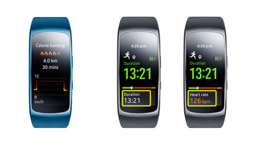 Samsung Gear Fit 2 new features after update