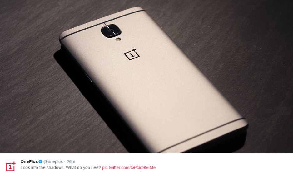 New teaser image suggests the OnePlus 5 is smaller than the OnePlus 3T
