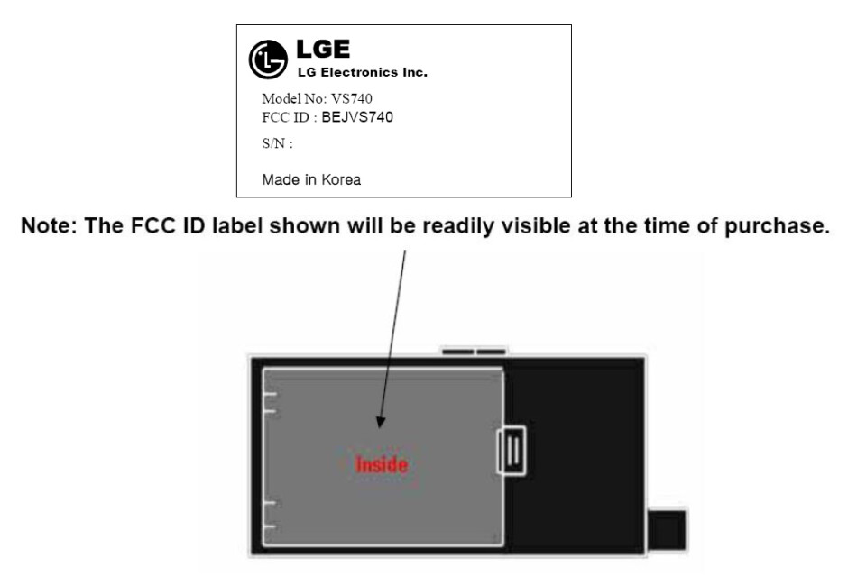 We wonder what the LG VS740 will look like... - LG VS740 spotted at the FCC, coming to Verizon or Sprint?