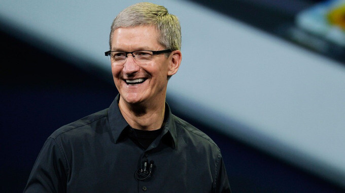 Apple CEO Tim Cook in the midst of a presentation - Apple WWDC 2017 keynote liveblog: iOS 11, new iPads and more expected