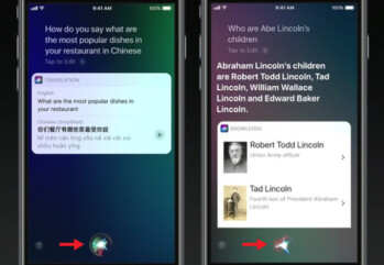 The new circular Siri button in iOS 11 may be the virtual Home button of the iPhone 8