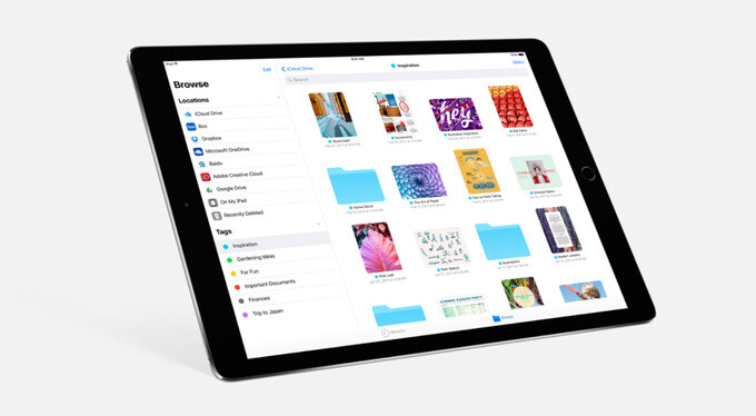 The new Files app in iOS 11 - iOS 11 is announced with improvements to Siri, Apple Pay, Photos and lots more