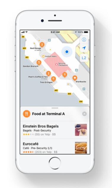 Indoor Maps in iOS 11