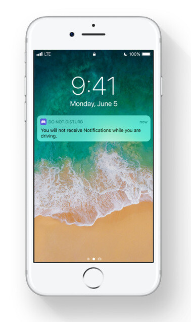 Do not Disturb When Driving in iOS 11