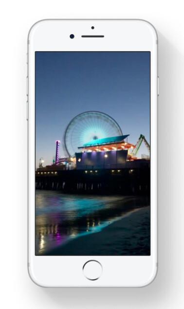 Long Exposure effect in Photos in iOS 11