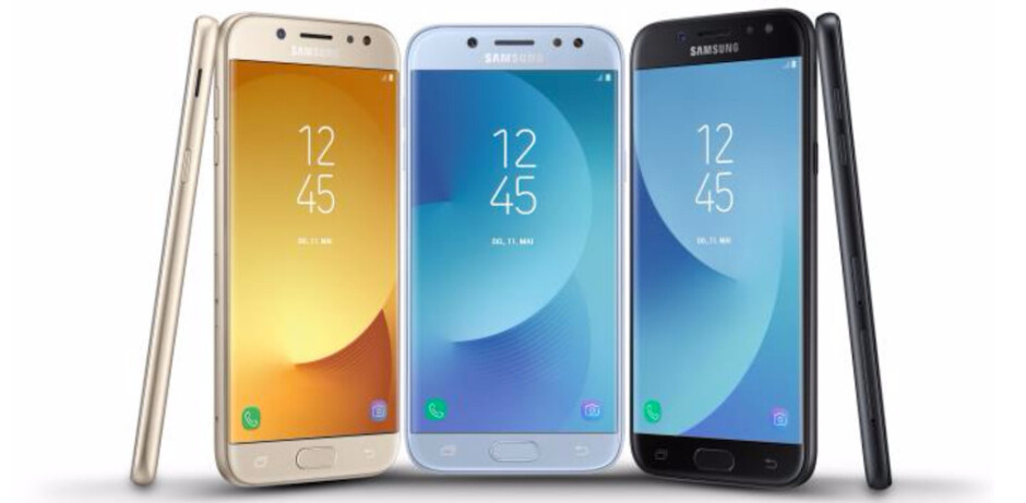 Samsung Galaxy J3, Galaxy J5 and Galaxy J7 (2017) officially introduced