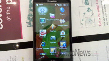 The HTC HD2 is super cool with its 4.3-inch screen and 1GHz Snapdragon processor