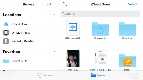 First look at Files, the new file manager in iOS 11 - PhoneArena