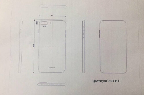 Schematic for the Apple iPhone 7s Plus