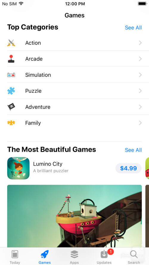 The new App Store in iOS 11